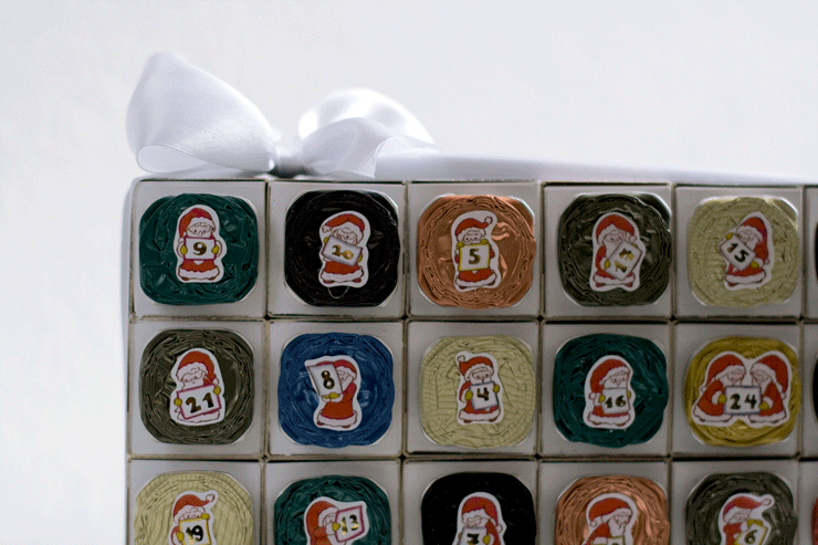 DIY Adventskalender Nespresso Detail